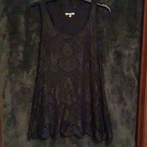 Maurices Tops - Scalloped Lace Top